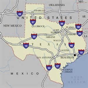 Houston Texas Highway Map