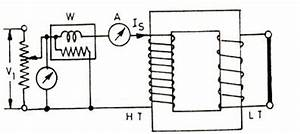 transformer tests help for transformer engineering With shortcircuit or impedance test