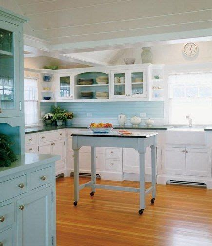 kitchen island legs pretty quot seaglass quot kitchen with 1940s inspiration 1940
