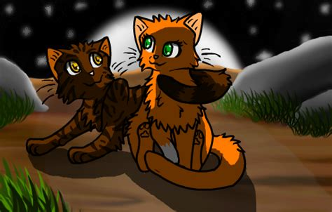 Squirrelflight And Brambleclaw By Spotedshadow On Deviantart