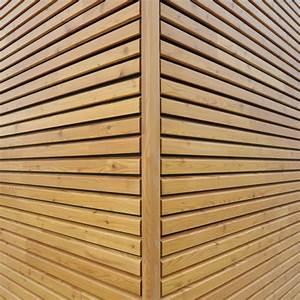 Bardage Claire Voie Horizontal : bardage bois style ajour openlam simonin ~ Carolinahurricanesstore.com Idées de Décoration