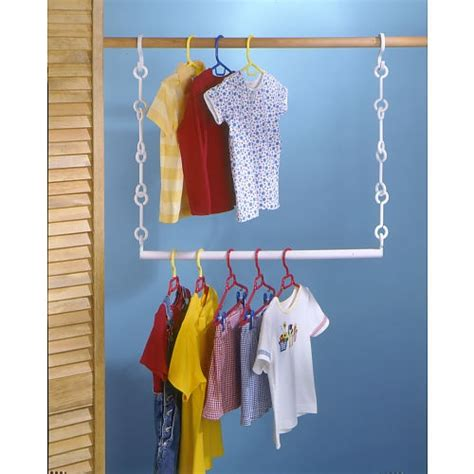 closet extenders white products to