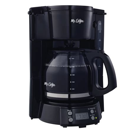 Coffee 10 cup coffee maker, optimal brew thermal system. Mr. Coffee 12 Cup Programmable Black Coffee Maker ...