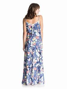 easy tropical long maxi dress 3613371404741 roxy With robe longue tropical