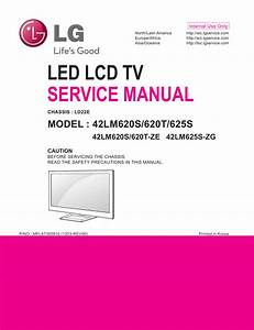Lg Lcd Tv 42lm620s 42lm620t 42lm625s Service Manual