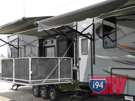 new 2015 heartland cyclone 4200 side porch awesome rvs