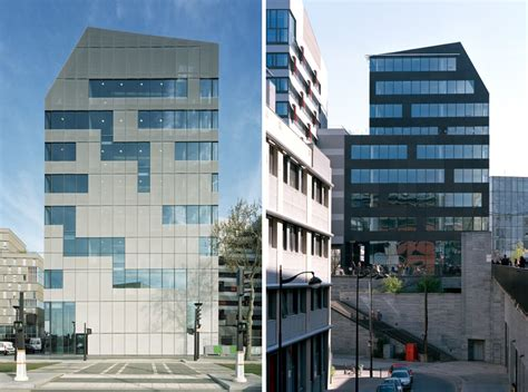 ecdm patterns M5B3 office building with rainscreens in paris