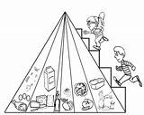 Pyramid Coloring Pages Pyramids Drawing Egyptian Stepping Clipart Printable Getdrawings Egypt Ancient Getcolorings Library sketch template