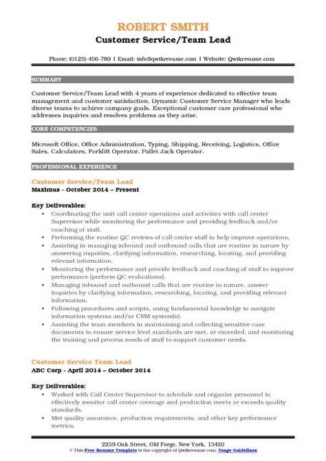 Customer Service Team Leader Questions by Call Center Team Leader Resume Bijeefopijburg Nl