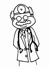 Doctor Drawing Doctors Coloring Clipart Office Pages Colouring Medical Surgeon Library Cliparts Clip Child Drawings Getdrawings Equipment Clipartmag Paintingvalley sketch template