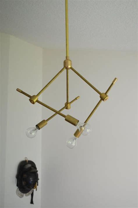 modern solid brass light fixture hanging pendant