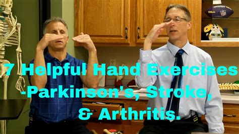 helpful hand exercises  parkinsons  improve