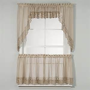 Kitchen Curtains Bed Bath And Beyond by Bali Kitchen Window Curtain Tiers Bed Bath Amp Beyond
