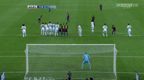 Gambar Animasi Bergerak Gol Spektakuler Messi Dan