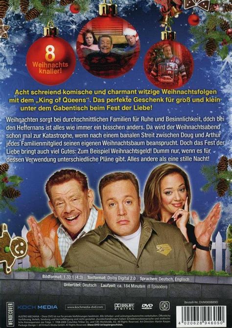weihnachten mit dem king  queens dvd oder blu ray