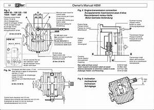 Zf Hurth Hbw 50 Marine Transmission Owners Manual