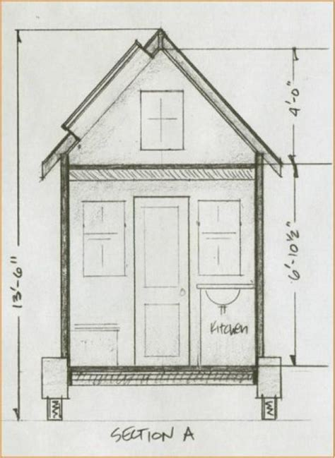 tiny house size ruminations what it s like to live in an 84 square foot house