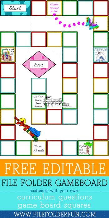 editable file folder game