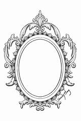 Mirror Sketch Drawing Template sketch template