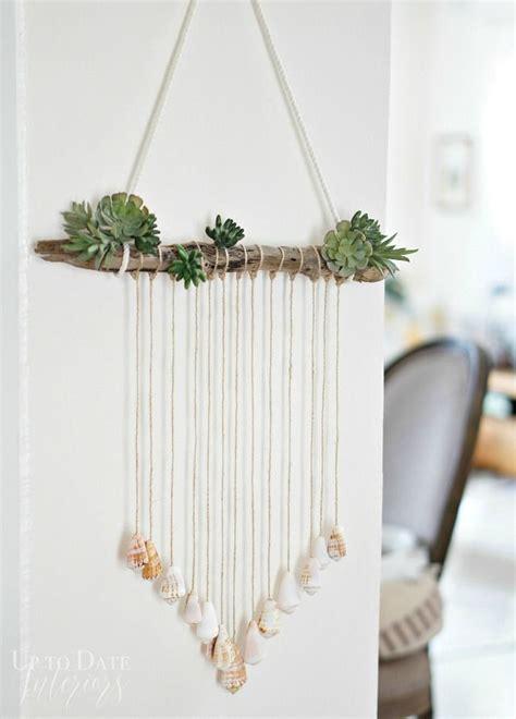 modern seashell door hanging macrame  dreamcatchers
