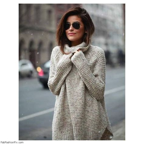 oversized sweater style guide how to wear oversized sweater this fall