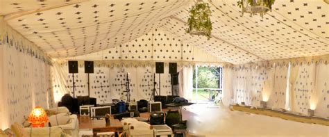 marquee decoration  weddings complete chillout company