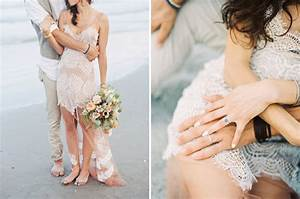 eclectic destination beach wedding mica gavin green With for love and lemons wedding dress