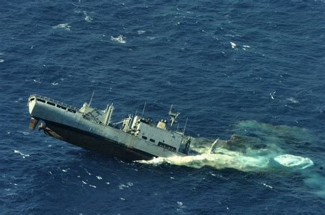 canadians sink u s ship on purpose ares
