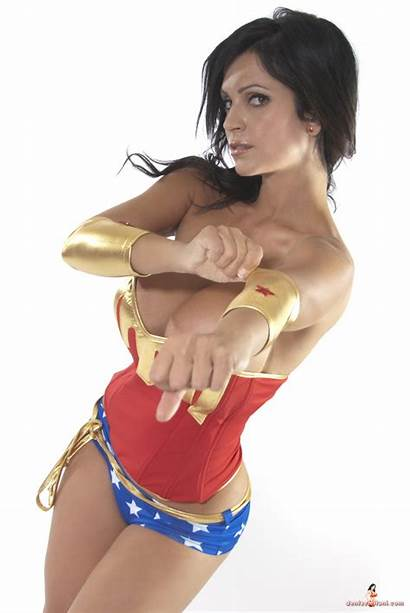 Denise Milani Wonder Woman Models
