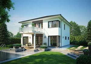 stadtvilla centro von kern haus 4 schlafzimmer fur familien With französischer balkon mit luxus pool im garten