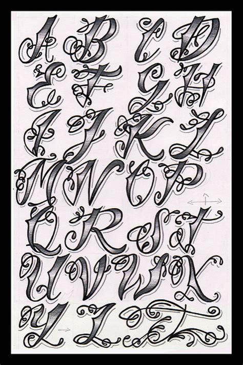Tattoos Designs Names, Tattoo Letter Fonts Alphabet
