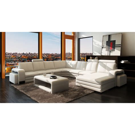 canape d angle contemporain canapé d 39 angle contemporain cuir monreale 2 149 00
