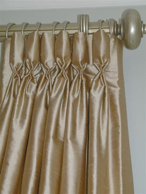 interior pinch pleated drapes with hanging l also