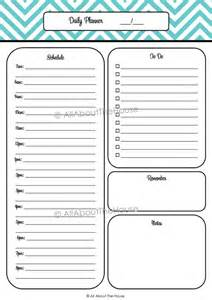 Printable Weekly Planner to Do List