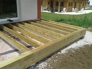 Installer Une Terrasse En Bois : installer terrasse bois installer une terrasse bois par un menuisier proche etretat 76 peinture ~ Farleysfitness.com Idées de Décoration