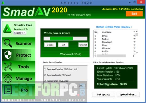 Download and install smadav 2020 latest version free is a sort of anti virus smadav are designed as extra security so 100% compatible and may operate well, but there continues to be another anti virus on your own personal computer, in this scenario smadav functions as a second line of defense. Smadav Pro 2020 Crack & Registration Key Free Download