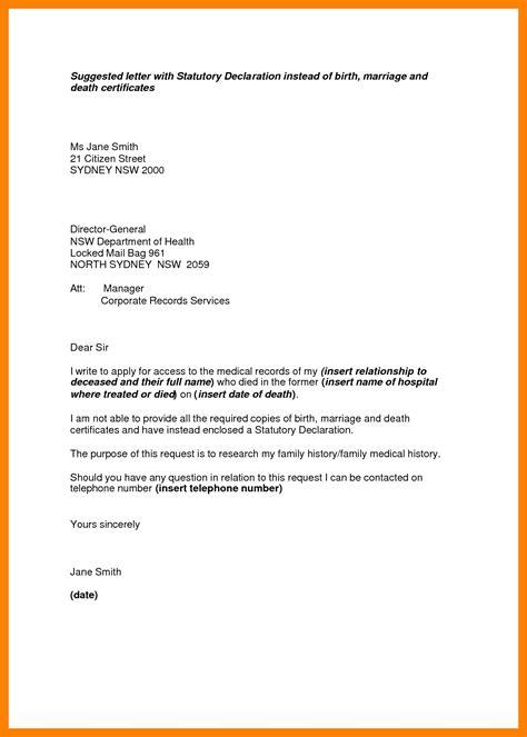 declaration letter sle resume cover letter