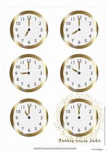 Uhr Zum Hinstellen : silvester countdown uhr zum ausdrucken minidrops ~ Michelbontemps.com Haus und Dekorationen