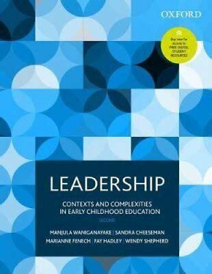 leadership  early childhood paperback  jillian rodd