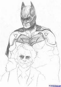 How to Draw the Dark Knight, Step by Step, Movies, Pop ...