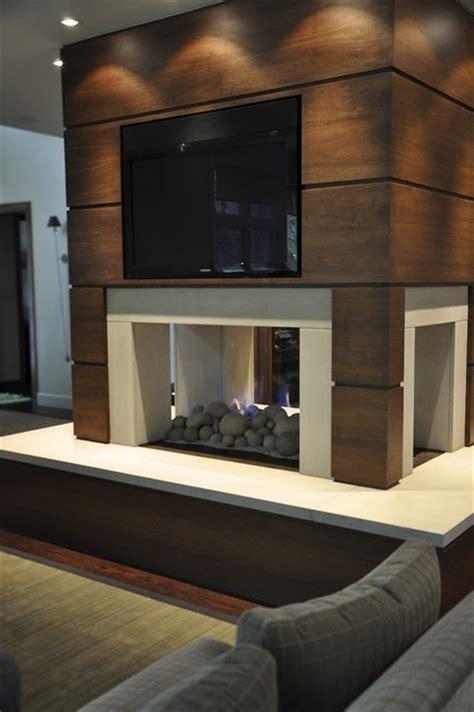 modern fireplace modern living room detroit