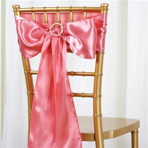 250 wholesale lot satin chair sashes ties bows wedding