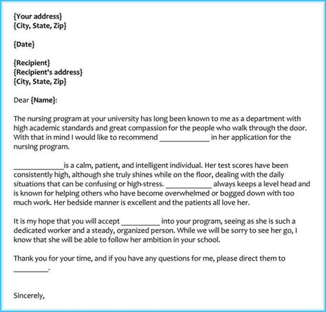 reference letter examples  samples formats writing