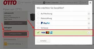 Vodafone Rechnung Mit Paypal Bezahlen : ratgeber mit kreditkarte bei otto bezahlen schritt f r schritt ~ Themetempest.com Abrechnung