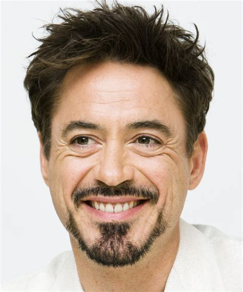 Robert Downey Jr Short Straight Formal Hairstyle