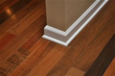 How Much To Add Hardwood Floors by How To Install Baseboard And Shoe Molding For Hardwood