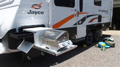 Laminex Kitchen Ideas - high quality caravan bbq stainless steel construction easy installation outback touring