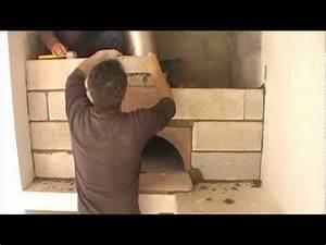 Montage du four à bois Ephrem: le Pizzaiollo how to built