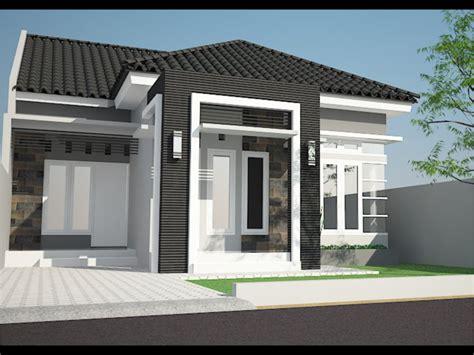 desain rumah cantik  minimalis gambar desain rumah