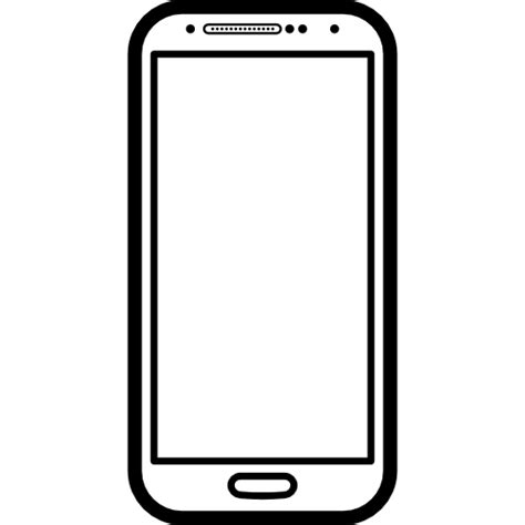 mobile phone icon vector png white mobile phone popular model samsung galaxy s4 free tools
